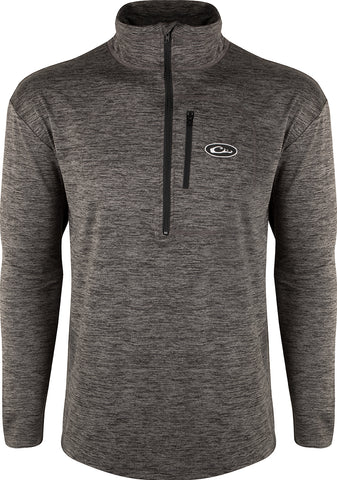 Baselayer Top Charcoal Heather