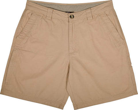 Washed Cotton Canvas Shorts