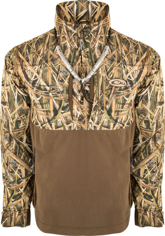 Guardian Flex™ 1/4 Zip Eqwader™ Wading Jacket - Shell Weight