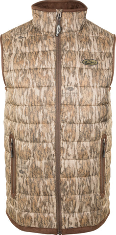 LST Camo Double Down Layering Vest