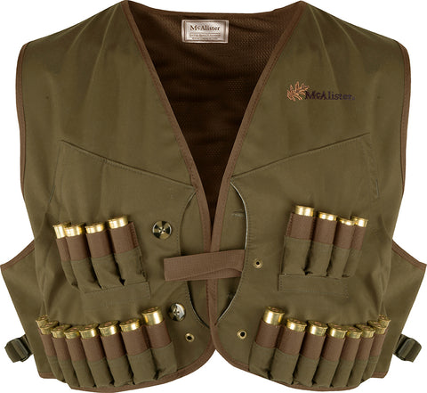 McAlister® Wax Canvas Wading Vest