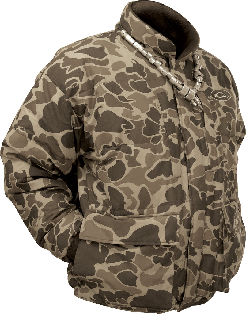 3936209077727 LST Down Coat [Old School] – Drake Waterfowl