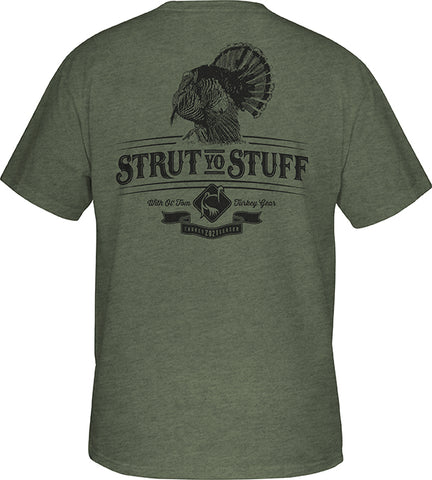Ol' Tom Strut T S/S Military Heather