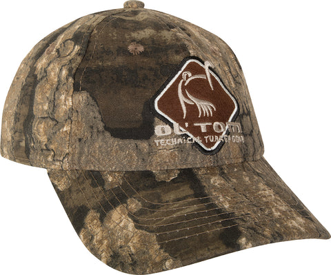 Camo Cotton Ol' Tom Diamond Logo Cap