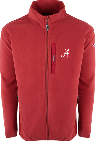 Alabama Full Zip Camp Fleece