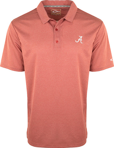 Alabama Vintage Heather Polo