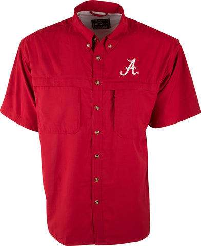 Alabama S/S Mesh Back Flyweight Shirt