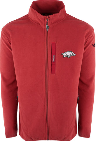 Arkansas Full Zip Camp Fleece