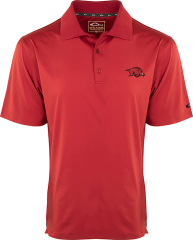 Arkansas Performance Stretch Polo