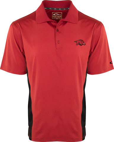 Arkansas Performance Polo with Mesh Sides