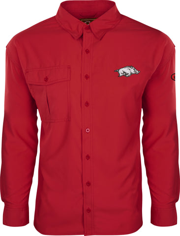 Arkansas L/S Flyweight Shirt