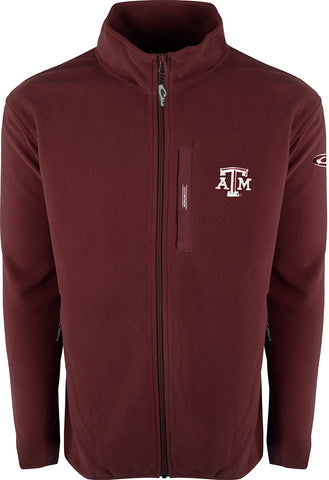 Texas A&M Full Zip Camp Fleece