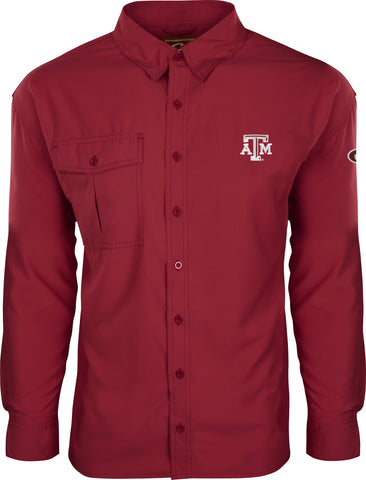 Texas A&M L/S Flyweight Shirt