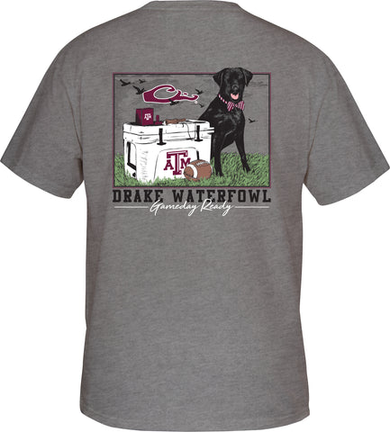Texas A&M Black Lab Tailgate Tee