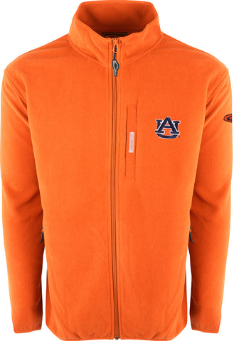 Auburn Full Zip Camp Fleece