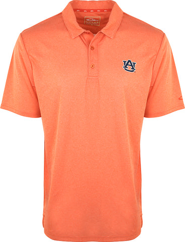 Auburn Vintage Heather Polo