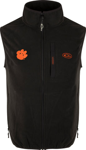 Clemson Camp Fleece Vest