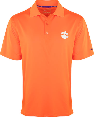 Clemson Performance Stretch Polo