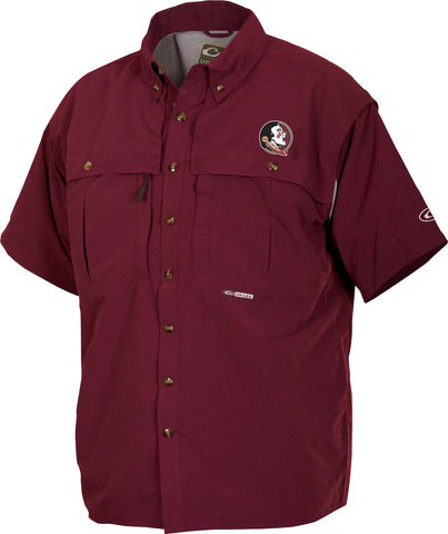 Florida State Cotton Wingshooter's Shirt Short Sleeve