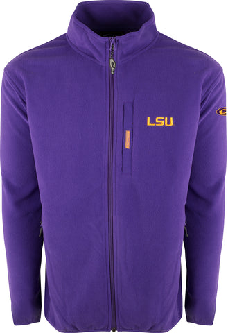 LSU Full Zip Camp Fleece