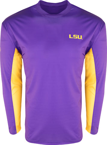 LSU L/S Performance Crew