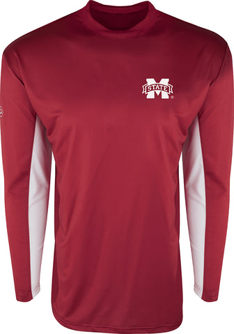 Mississippi State L/S Performance Crew
