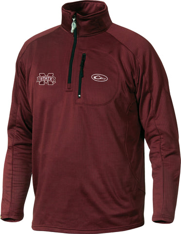 Mississippi State Breathlite 1/4 Zip