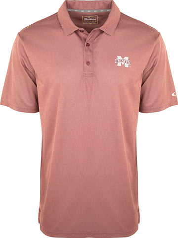 Mississippi State Vintage Heather Polo
