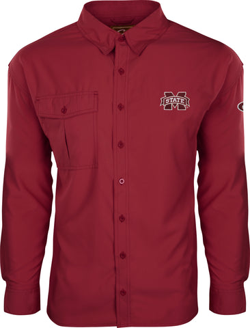 Mississippi State L/S Flyweight Shirt