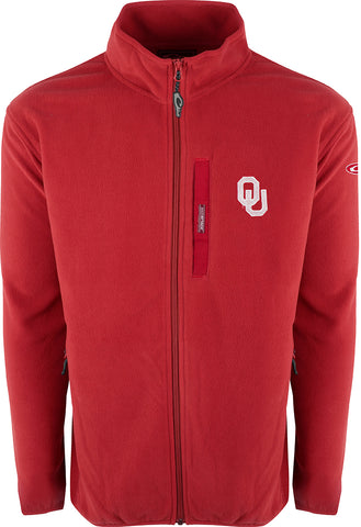 Oklahoma Full Zip Camp Fleece