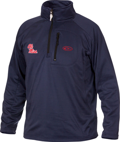 Ole Miss Breathlite 1/4 Zip