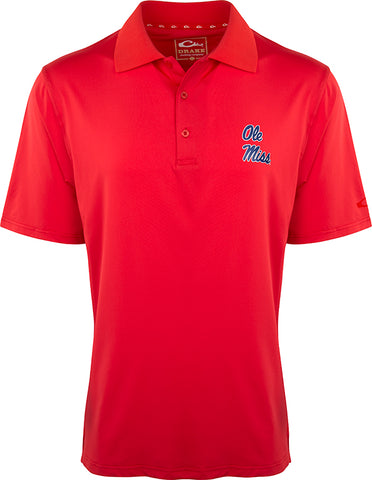 Ole Miss Performance Stretch Polo