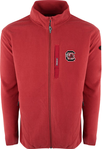 South Carolina Full Zip Camp Fleece