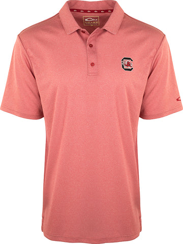 South Carolina Vintage Heather Polo