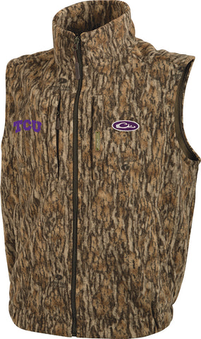 TCU Camo Windproof Layering Vest
