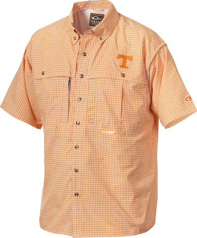 Tennessee Plaid Wingshooter's Shirt Short Sleeve