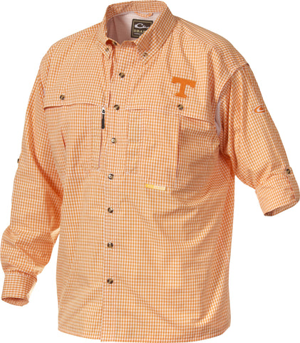 Tennessee Plaid Wingshooter's Shirt Long Sleeve