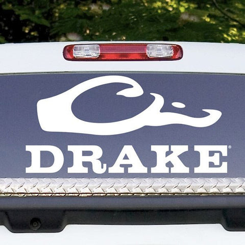 Drake Large Window Decal Drake Waterfowl - Back window decals for trucks
