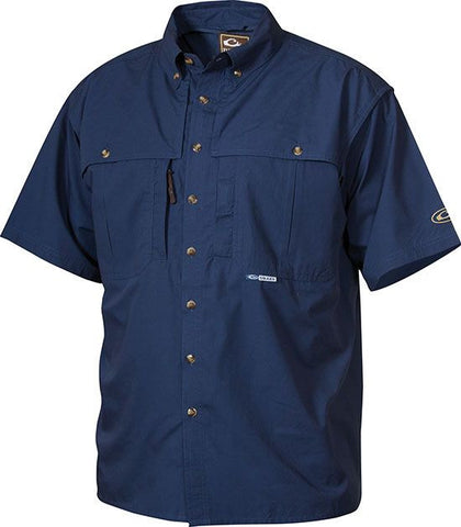 Cotton Wingshooter's Shirt with Staycool Fabric S/S