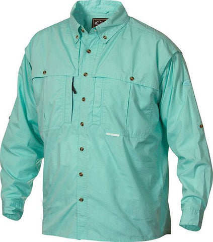 Cotton Wingshooter's Shirt with Staycool™ Fabric L/S