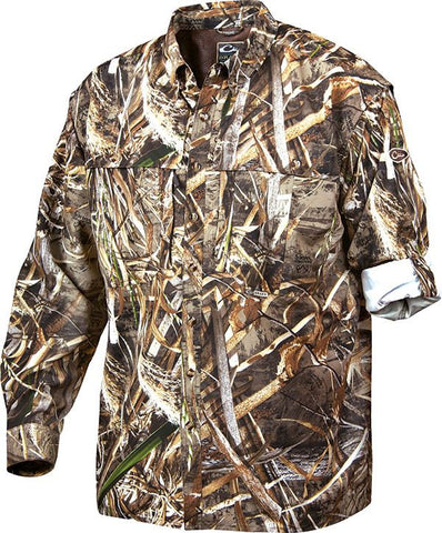 Camo Wingshooter's Shirt L/S