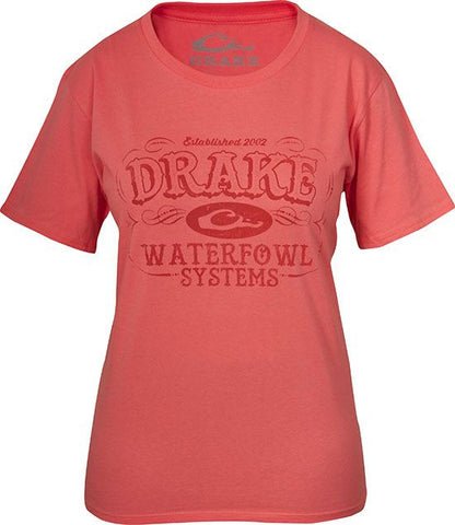 Women's Drake Waterfowl Systems Tee S/S
