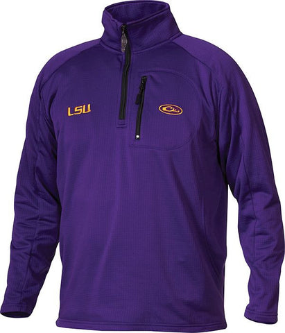 LSU Breathlite 1/4 Zip