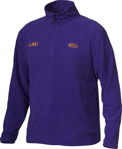 LSU Camp Fleece 1/4 Zip Pullover