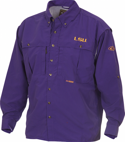 LSU Wingshooter's Shirt L/S