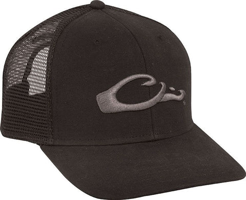 Mesh Back Flat Bill Cap