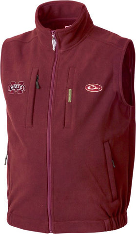 Mississippi State Windproof Layering Vest