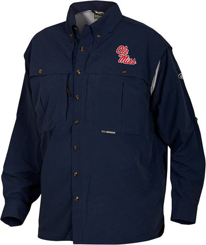 Ole Miss Wingshooter's Shirt Long Sleeve