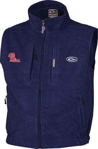 Ole Miss Windproof Layering Vest