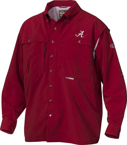 Alabama Cotton Wingshooter's Shirt Long Sleeve